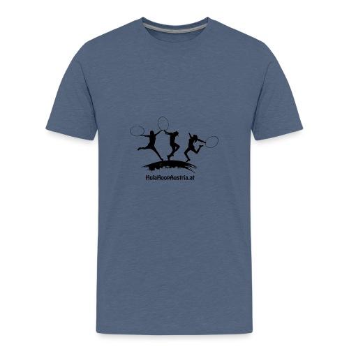 Jumping Shadow Black - Teenager Premium T-Shirt