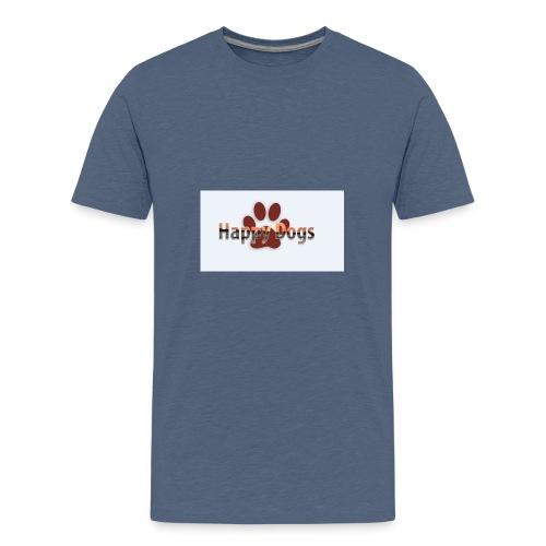 Happy dogs - Teenager Premium T-Shirt