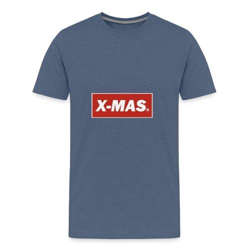 X Mas - Camiseta premium adolescente