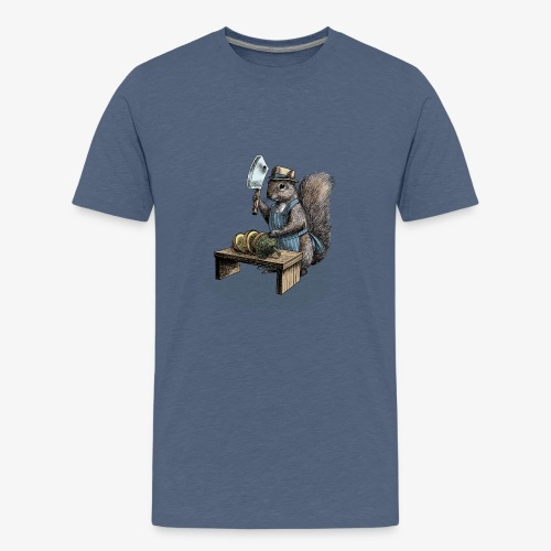 Squirrel nut cracker - Teenage Premium T-Shirt