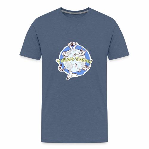 Logo von Yakari-Travel - Teenager Premium T-Shirt