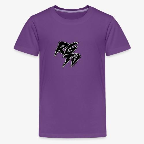 RGTV LOGO - Teenage Premium T-Shirt