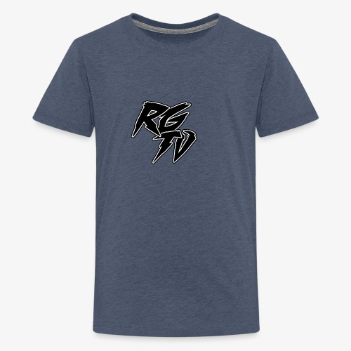 RGTV LOGO - Teenage Premium T-Shirt