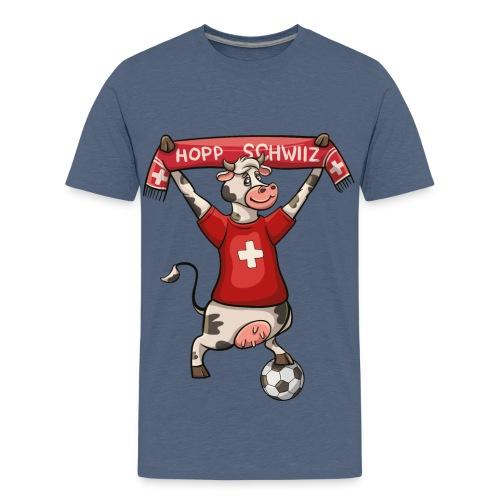 Hopp Schwiiz - Teenager Premium T-Shirt
