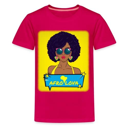 Pop Lady Afro - T-shirt Premium Ado