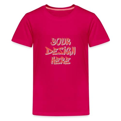 TextFX - Teenage Premium T-Shirt