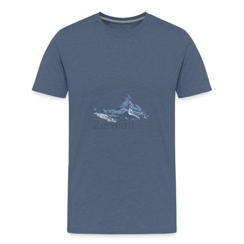 Zermatt Switzerland - Teenager Premium T-Shirt