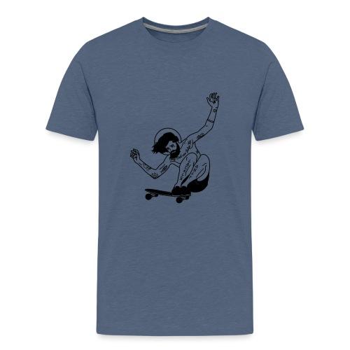 Gesu skater tutti i motivi - Maglietta Premium per ragazzi