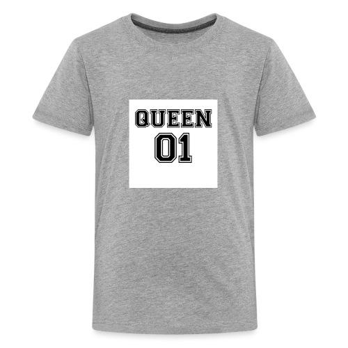 Queen 01 - T-shirt Premium Ado