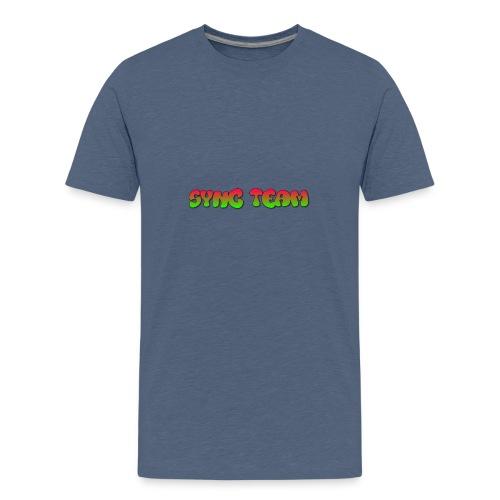 vêtement avec text SYNC TEAM - T-shirt Premium Ado