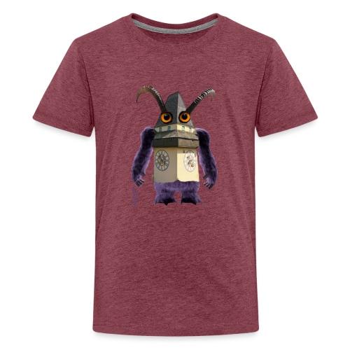Graz Uhrturm Monster Schloßberg - Teenager Premium T-Shirt