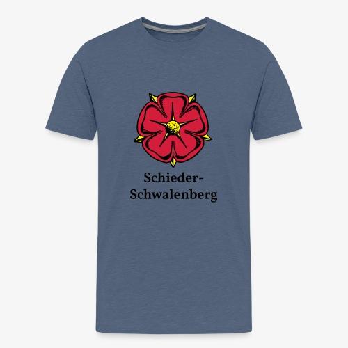 Lippische Rose - Schieder-Schwalenberg - Teenager Premium T-Shirt