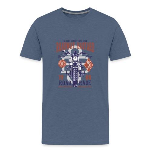 Roadway Bastard - Teenager Premium T-shirt