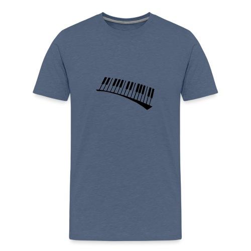 Piano - Camiseta premium adolescente