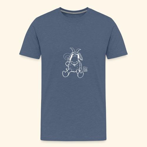 Bock - Miss you weiß - Teenager Premium T-Shirt