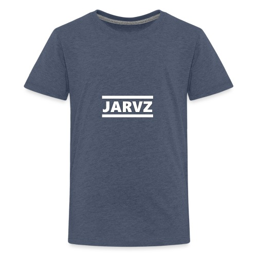 Jarvz Logo - Teenage Premium T-Shirt