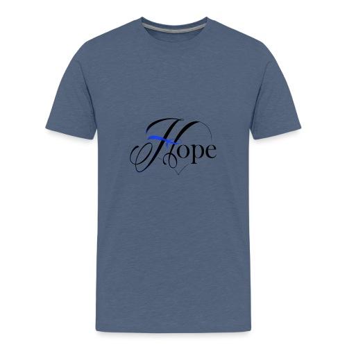 Hope startshere - Teenage Premium T-Shirt