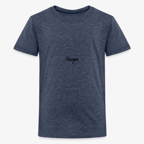 Logomakr 3jWJ0P - Teenage Premium T-Shirt