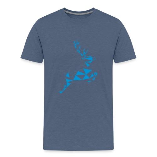 red nose rudolf - Teenager Premium T-Shirt