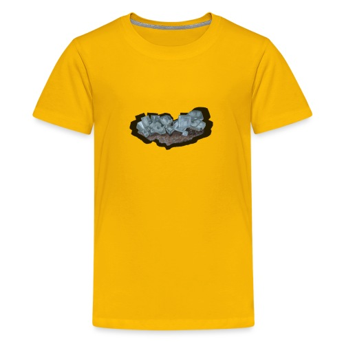 Halit-Kristallstufe - Teenager Premium T-Shirt