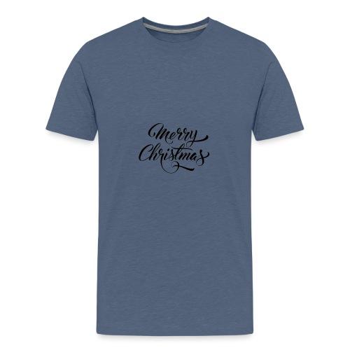 Merry Christmas - Teenage Premium T-Shirt