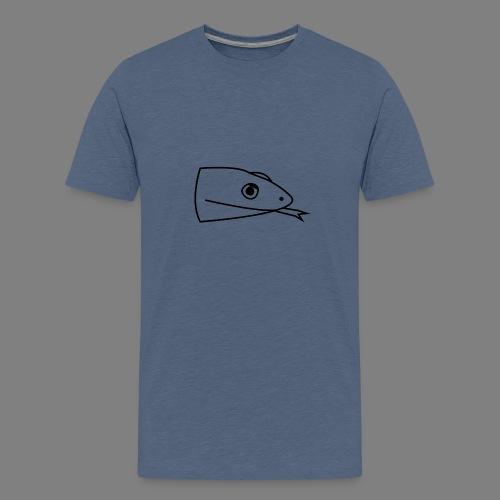 Snake logo black - Teenager Premium T-shirt