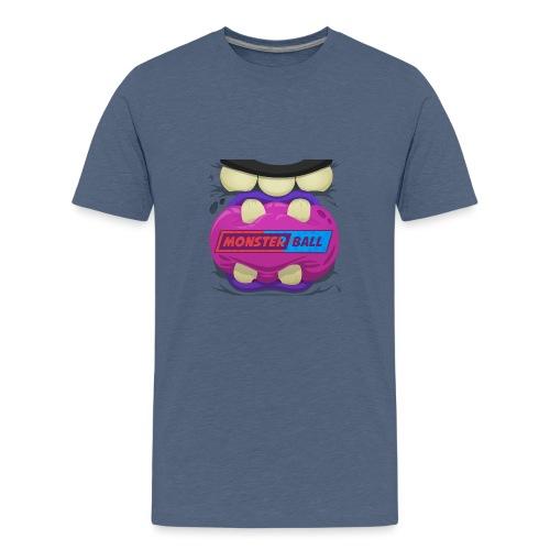 Monster Chew Logo - Teenage Premium T-Shirt