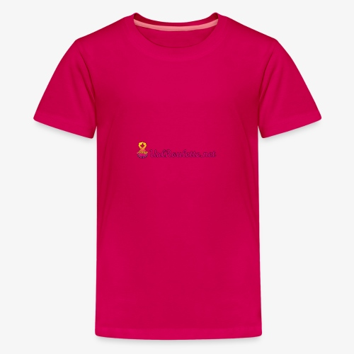 UrlRoulette Logo - Teenage Premium T-Shirt