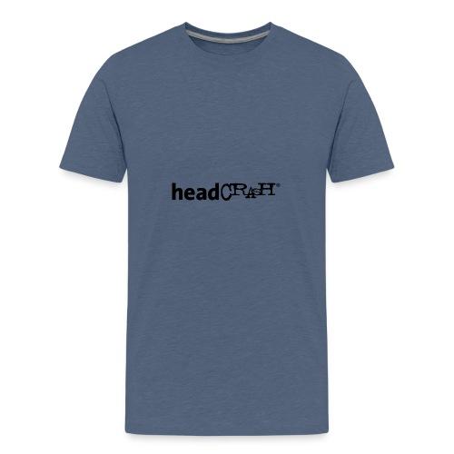 headCRASH Logo black - Teenager Premium T-Shirt