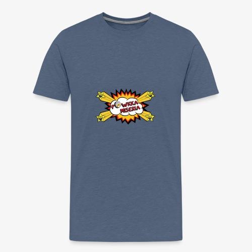 Powkka Miseria - Maglietta Premium per ragazzi