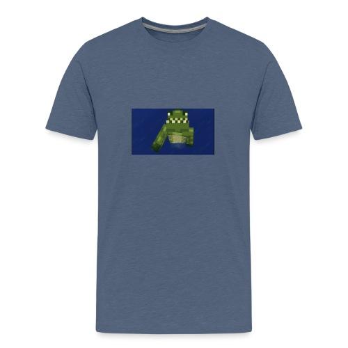 Swimming Snappy - Teenage Premium T-Shirt