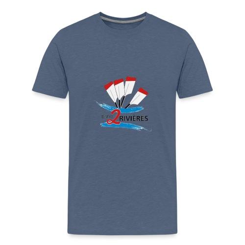 Entre 2 Rivières - T-shirt Premium Ado