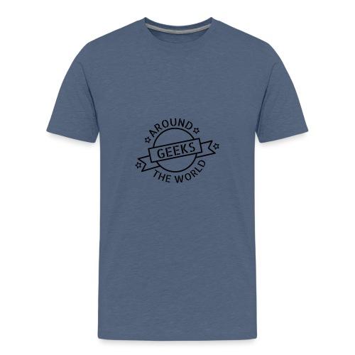 Geeks around the world - T-shirt Premium Ado