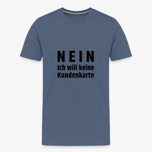 Kundenkarte - Teenager Premium T-Shirt