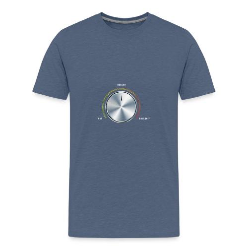 dueck prozess knopf - Teenager Premium T-Shirt