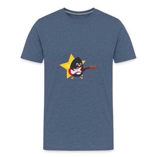 Pingouin Guitariste - T-shirt Premium Ado