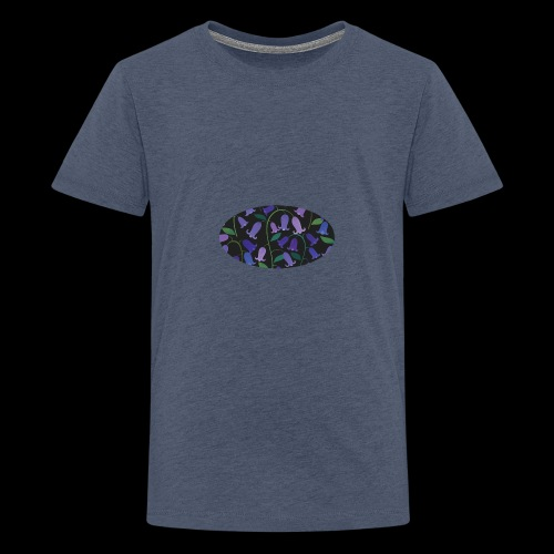 blue bells - T-shirt Premium Ado