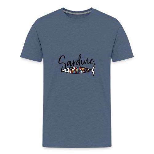 Sardine colorate all'amo - Maglietta Premium per ragazzi