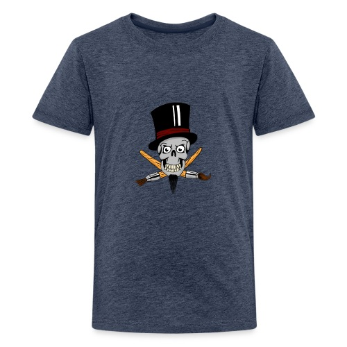 pinsel skull - Teenager Premium T-Shirt