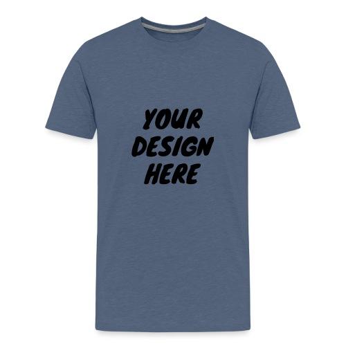 print file front 9 - Teenage Premium T-Shirt