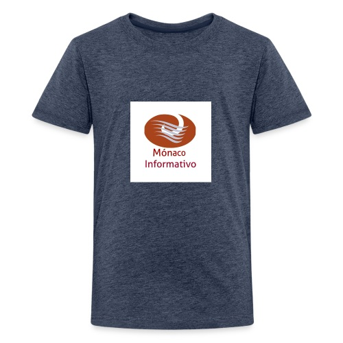 Monaco Informativo - T-shirt Premium Ado
