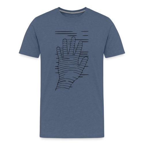 Eigene Hand - Teenager Premium T-Shirt