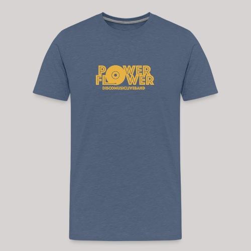 logo def PF 1colore giallo - Maglietta Premium per ragazzi