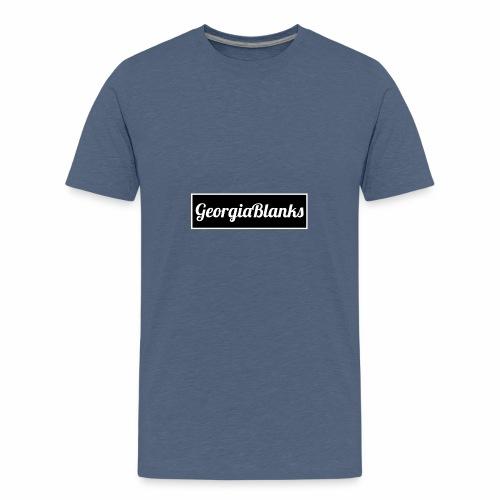 b and w gb - Teenage Premium T-Shirt