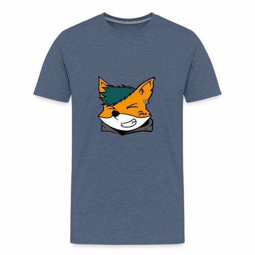 Le petit Fox [LOGO PERSONNALISABLE] - T-shirt Premium Ado