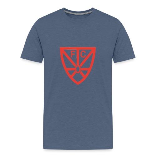 FCRWO Logo rot ohne hintergrund png - Teenager Premium T-Shirt