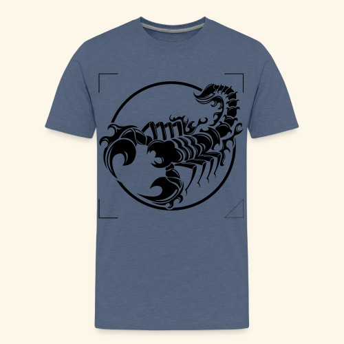 ESCORPION TRIBAL - Camiseta premium adolescente