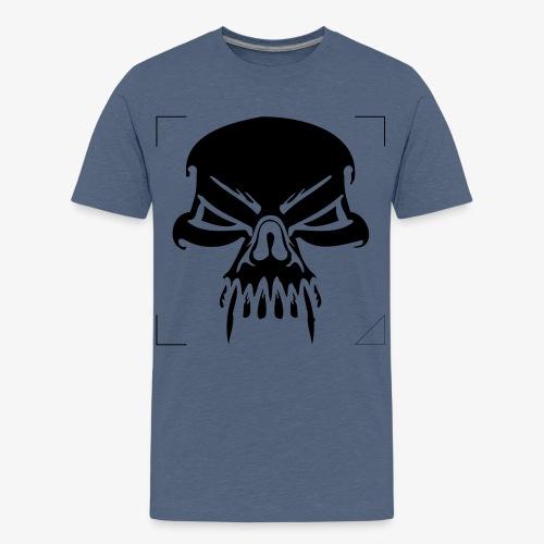 CALAVERA CON COLMILLOS - Camiseta premium adolescente