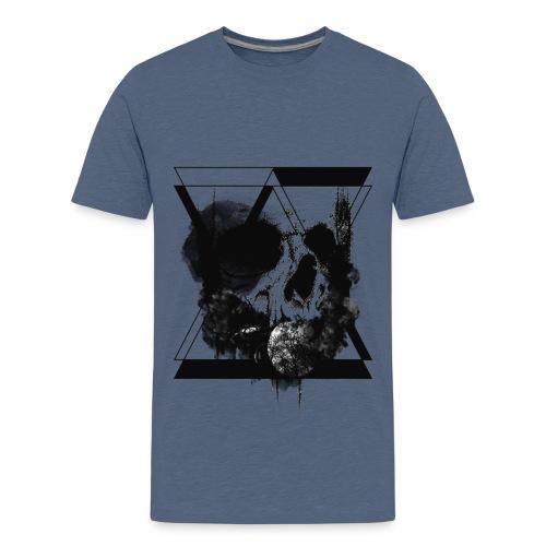 hourglass Skull - Maglietta Premium per ragazzi
