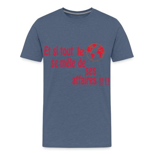 BNT création - T-shirt Premium Ado